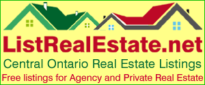 List Real Estate anywhere in Central Ontario including along The Trent Severn Waterway